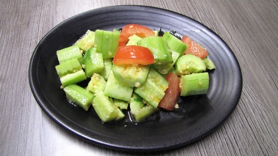 Xi'an BiangBiang Noodles' cucumber salad is the perfect snack for a late-summer heatwave
