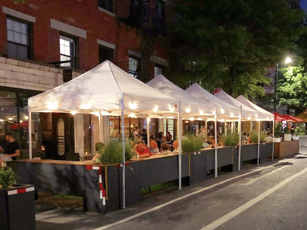 Five great outdoor dining spots in Greenwich Village