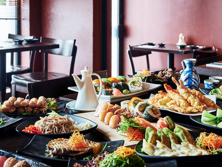 Settle in for an all-you-can-eat experience