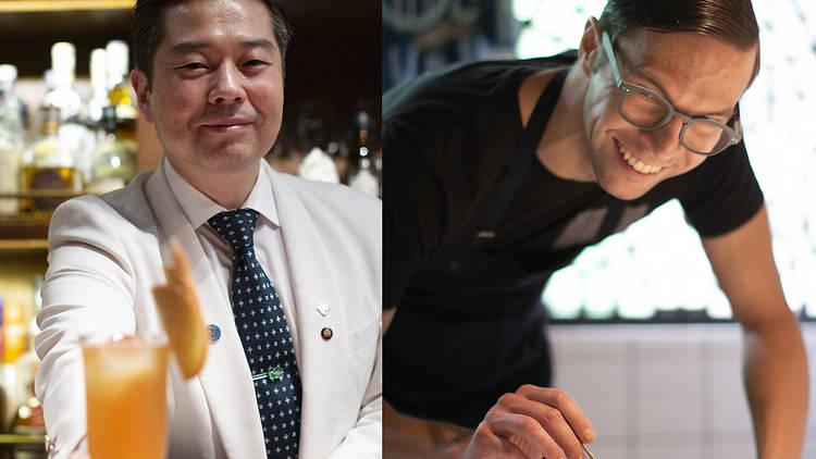 Masahiko Endo and Chef Max Levy