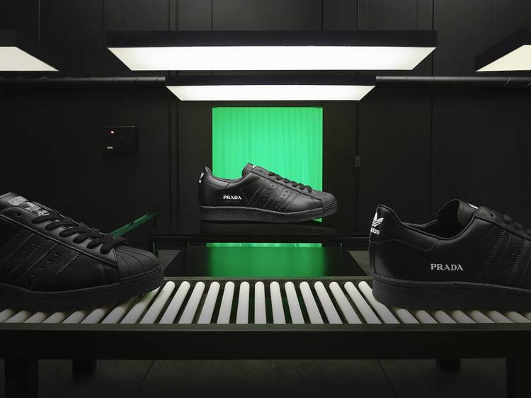 Prada for Adidas 新款 Prada Superstar