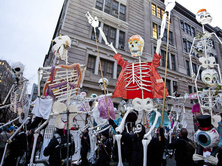Dress up for the Village Halloween Parade