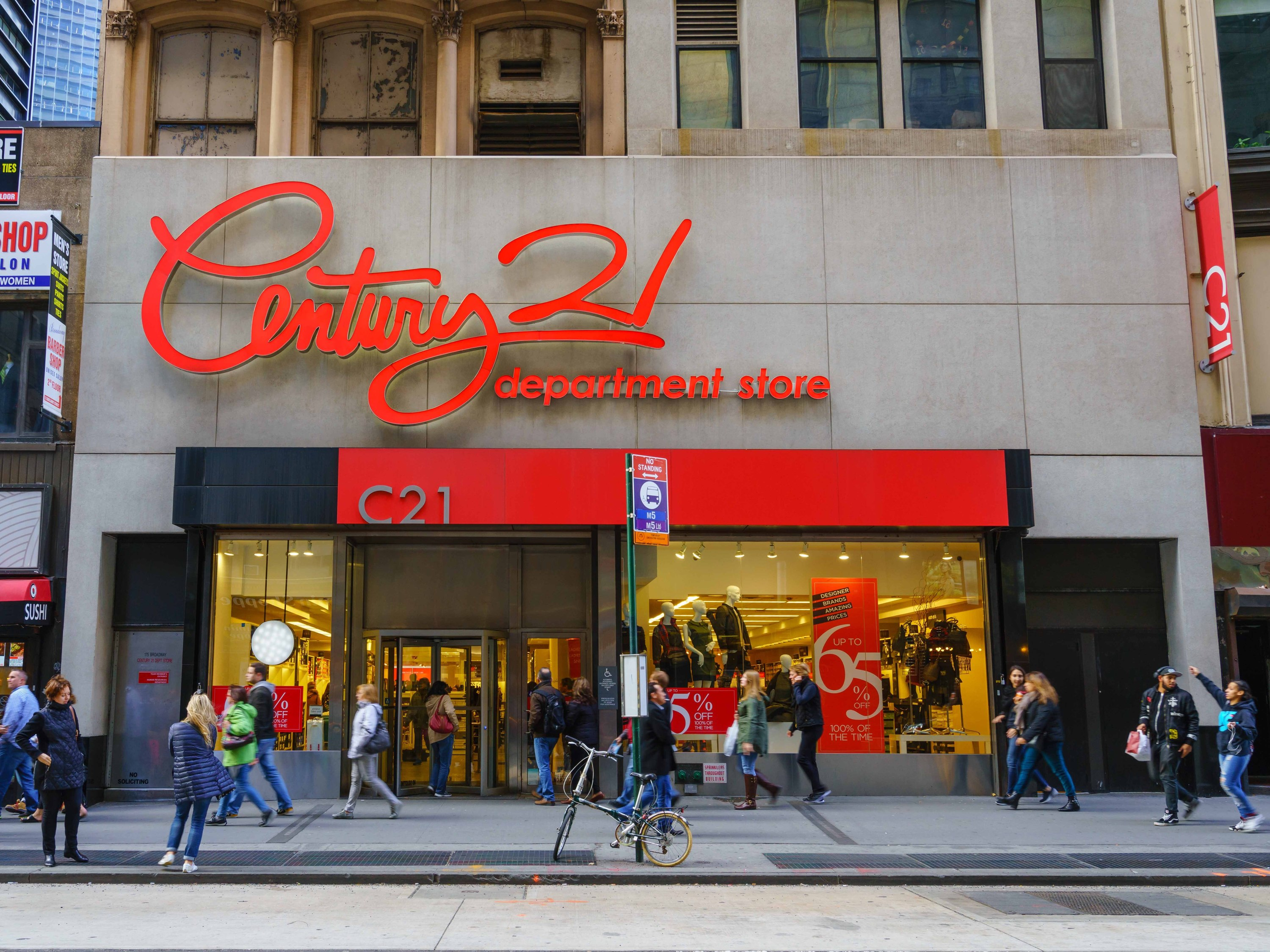 Century 21 Is Closing All Of Its Stores