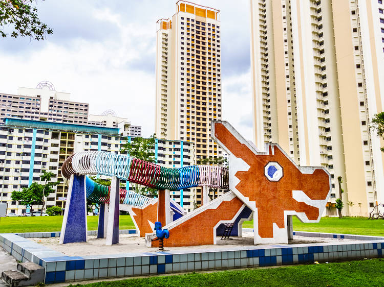 The oldest mosaic playgrounds in Singapore