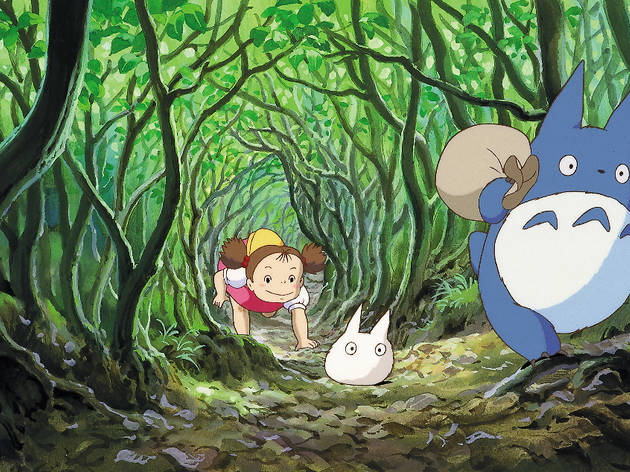 Film Still, My Neighbor Totoro (1988).
