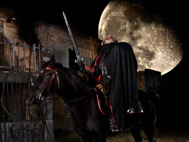 Headless Horseman Hayrides and Haunted Houses