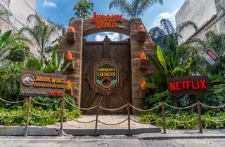 Puertas de Jurassic Park  CDMX