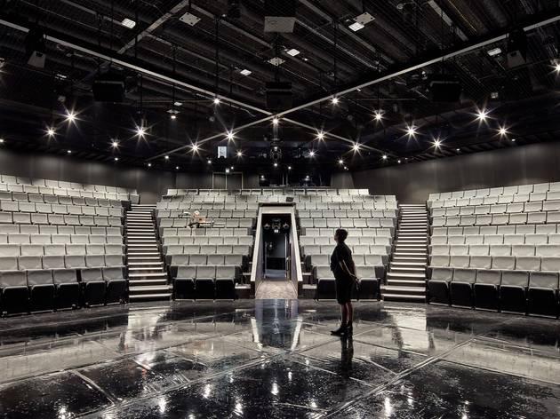 A theatre in the round