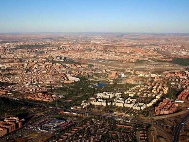 Distrito de Usera, vista aérea