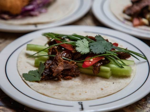Tacos from Around the World in Four Drinks at Employees Only