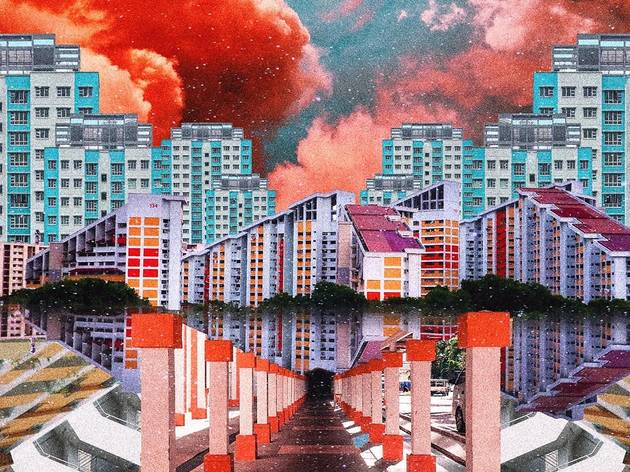 Meet the Singaporean artist who creates surrealist collages on Instagram