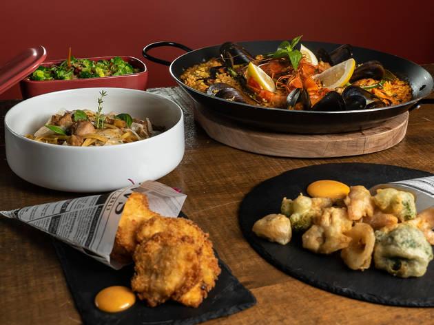 Tempuras e arrozes são alguns dos pratos que pode provar