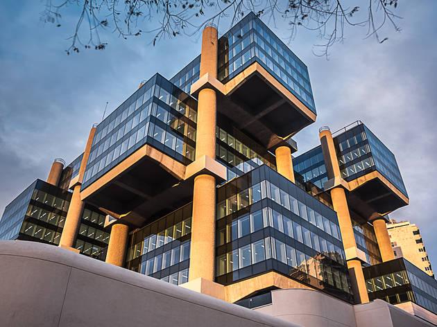 Edificio Los Cubos. Arquitectura de Madrid