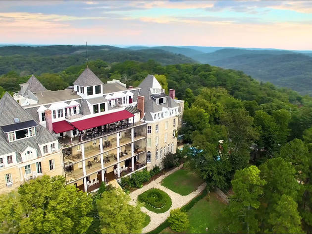 Crescent Hotel and Spa, arkansas