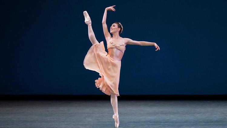 Tiler Peck in Tschaikovsky Pas de Deux, Choreography George Balanchine, New York City Ballet