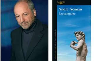 Andre Aciman, portada de Encuéntrame