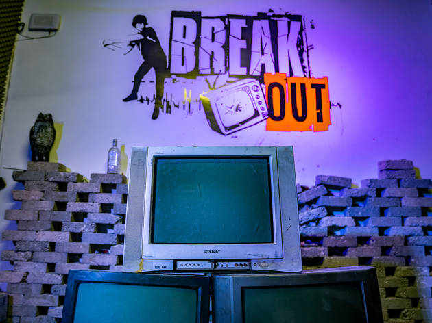 Break Out un cuarto de ira en la CDMX