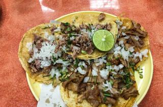 Tacos de suadero en la CDMX