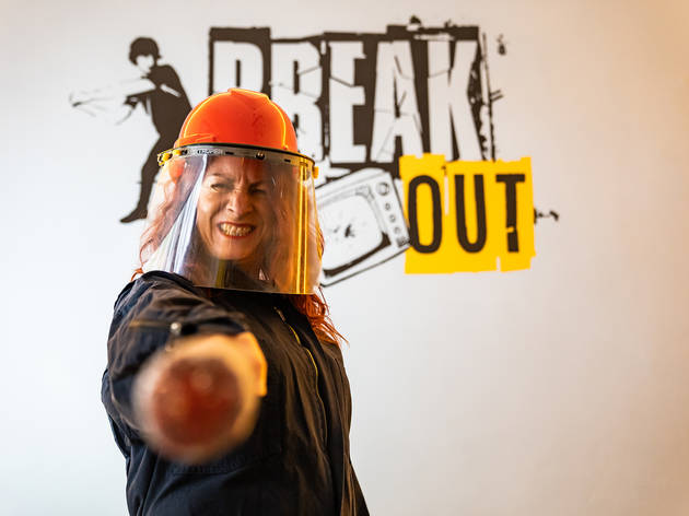 Break Out cuarto de ira en la CDMX