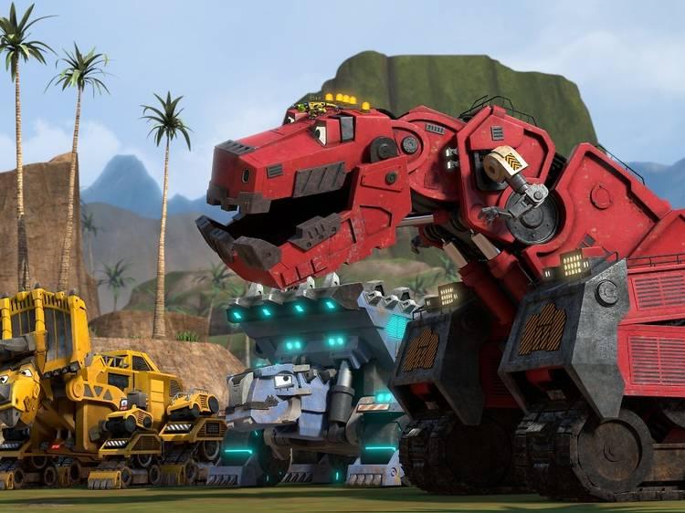 Dinotrux: Supercargados