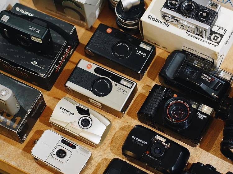 Best film photography stores in Hong Kong