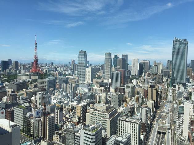 Tokyo cityscape, Tokyo Tower