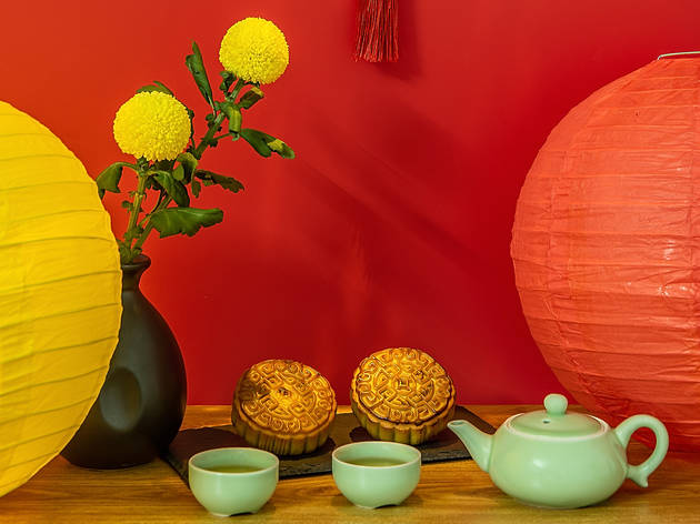 Mid-Autumn Festival, mooncakes, lanterns