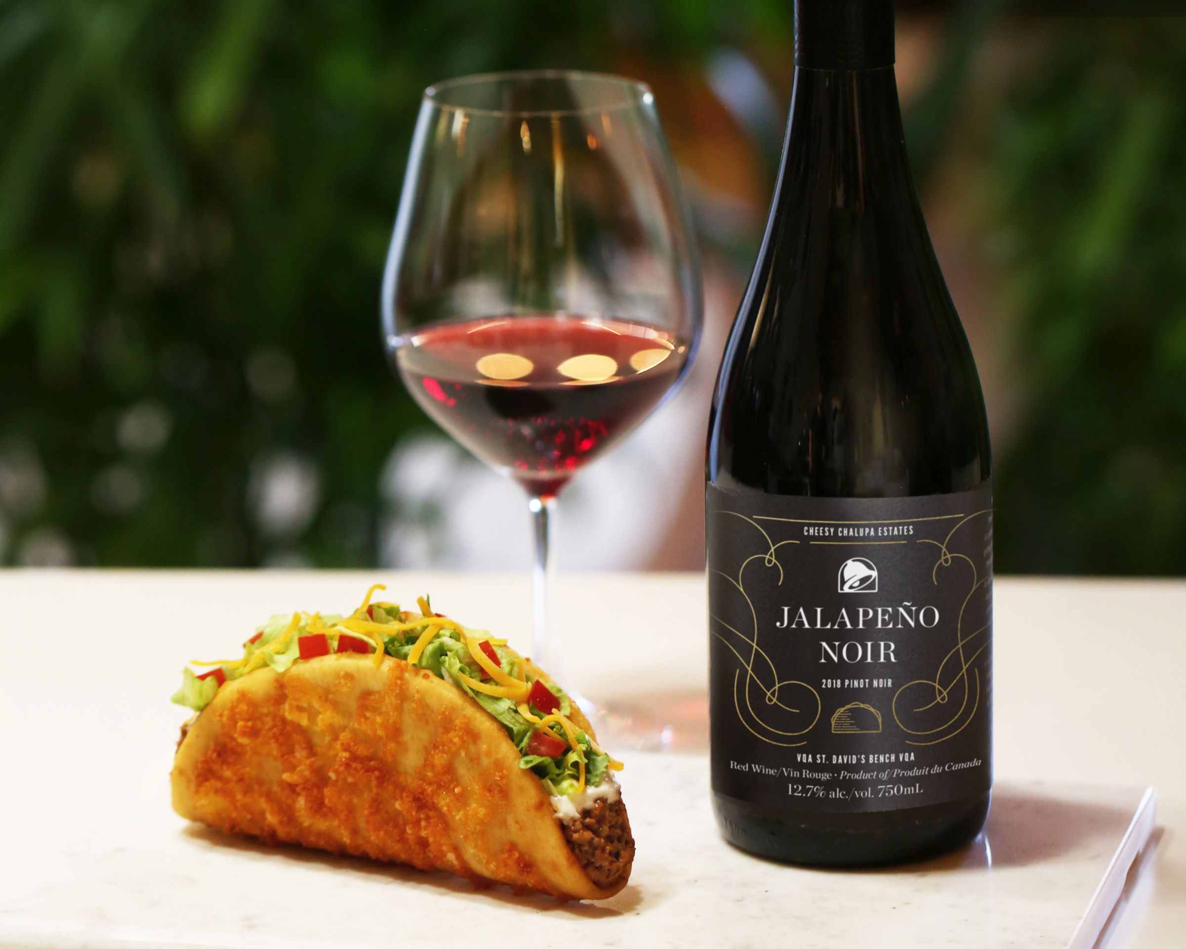 Taco Bell now has its own wine
