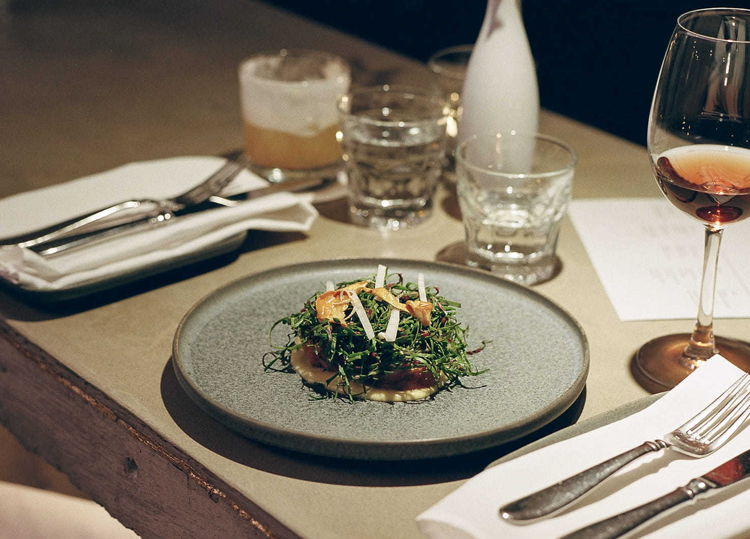 Old Montreal's new restaurant 212 promises swanky dining on a Noma-trained chef's food