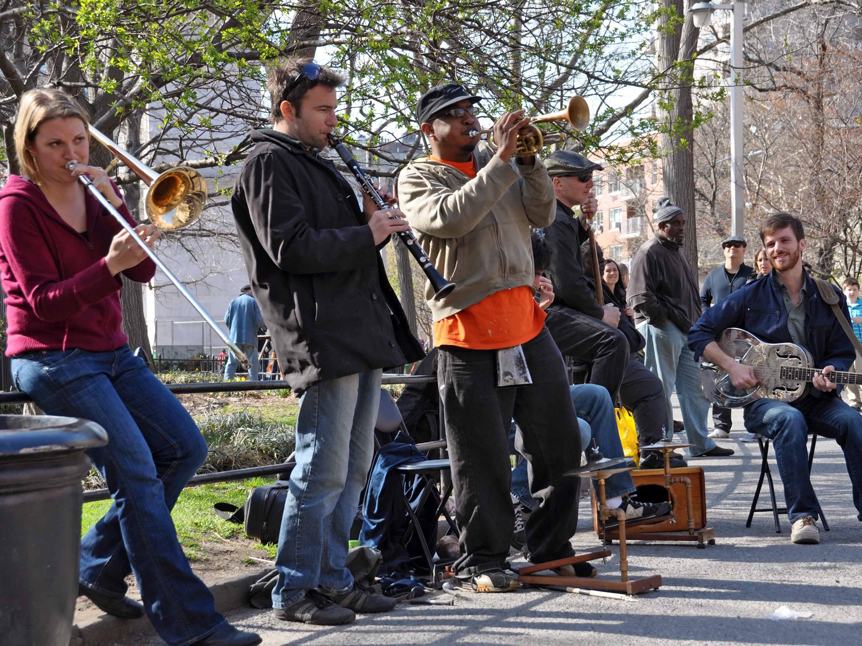jazz in washington square park