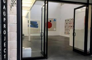 Exterior doors of Gagprojects, art gallery in Adelaide