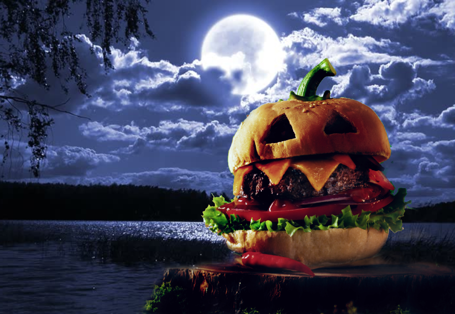 There's a food lover's Halloween drive-through coming to a spooky lake near L.A.