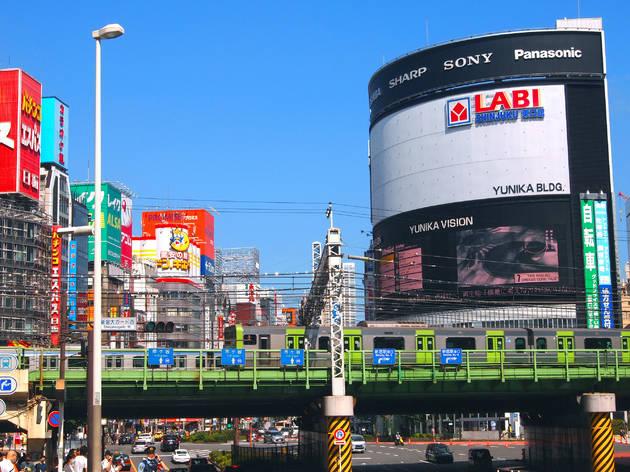 Labi store in Shinjuku