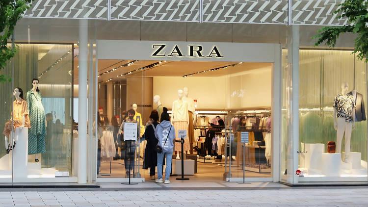 Zara aplicación Modo tienda