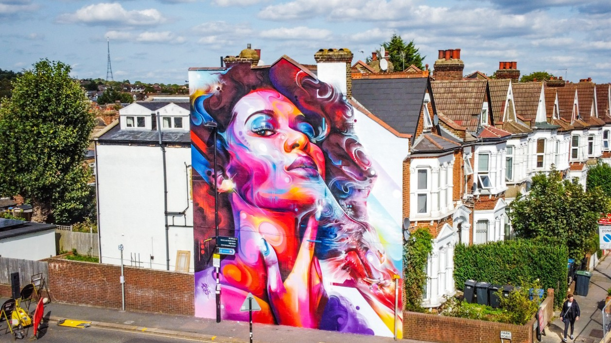 London Mural Festival is brightening up the city
