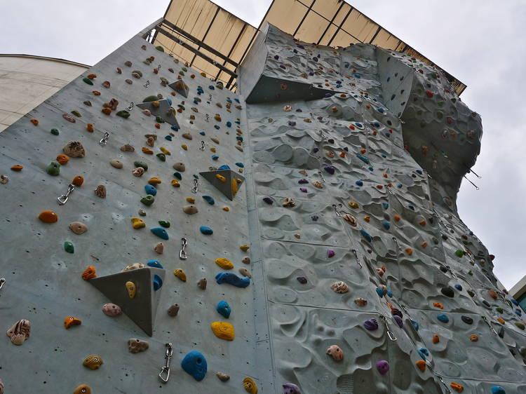 Ground Up Climbing