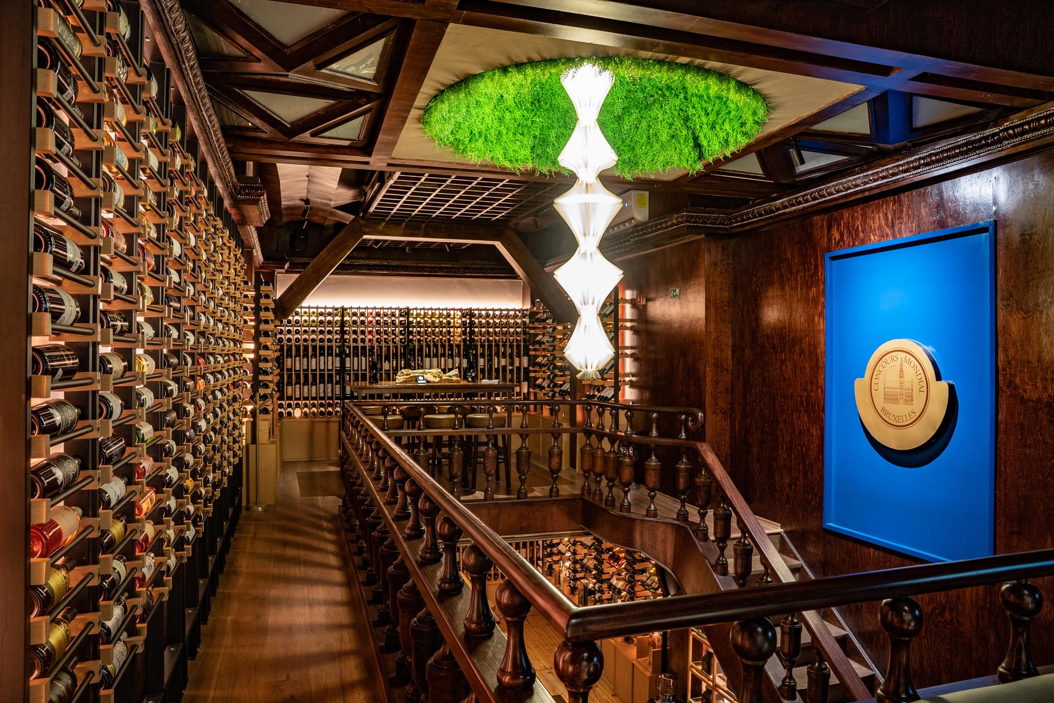 Vista del Wine Bar by Concours Mondial de Bruxelles