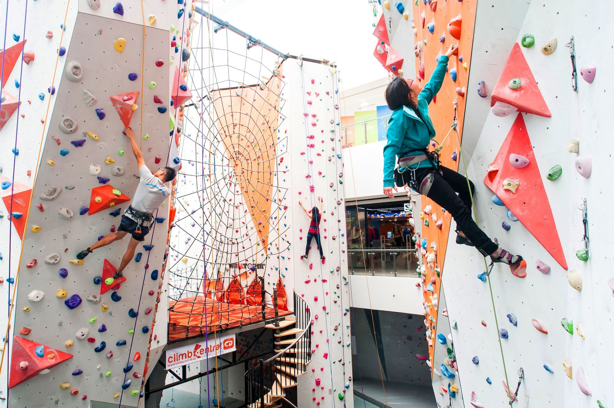 The best rock climbing and bouldering gyms in Singapore