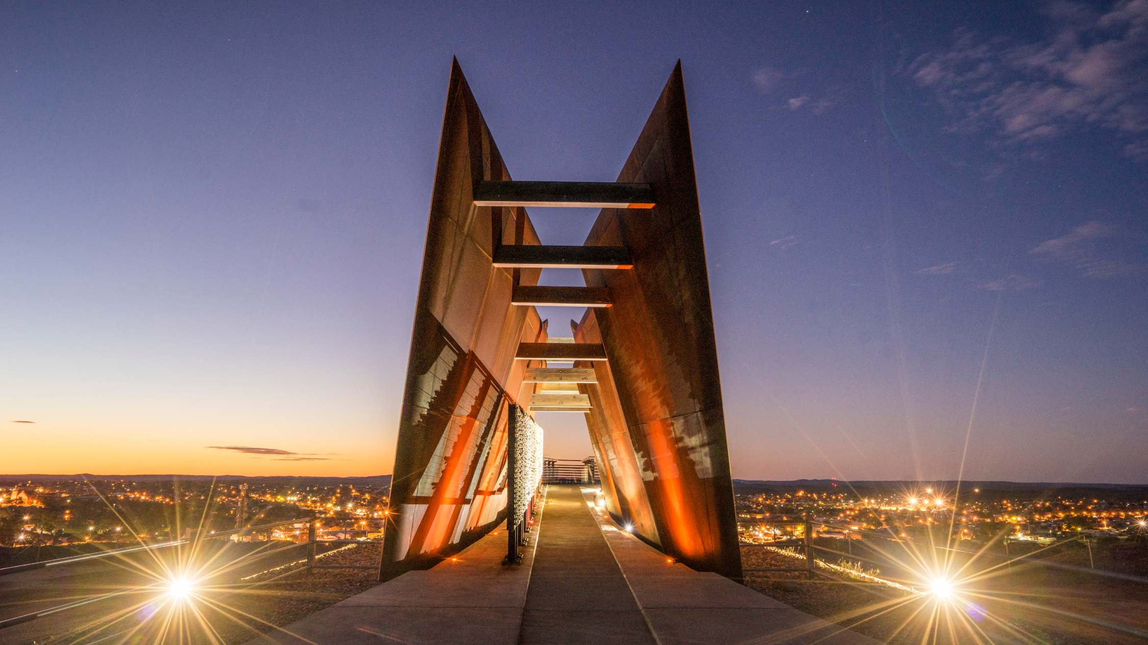 The Miners Memorial at Broken Hill