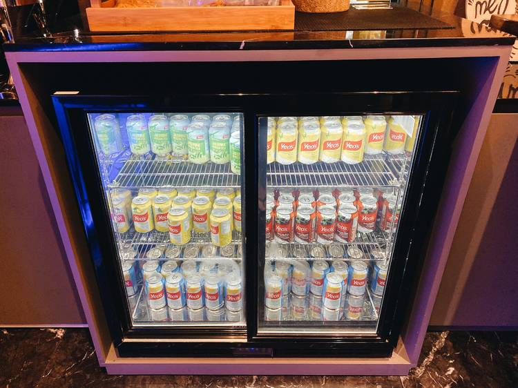 Stock your own minibar