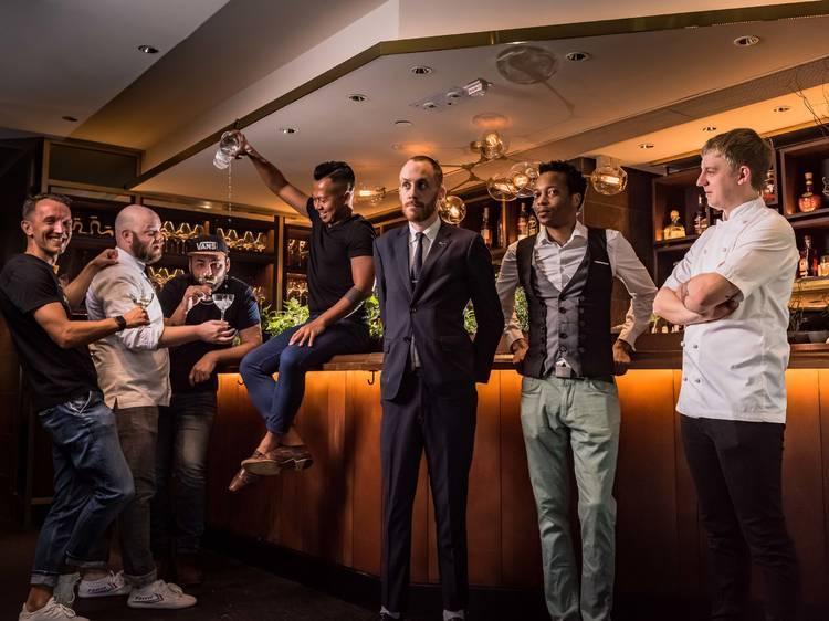 Craft & Spirit bar takeover at Roganic