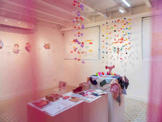Happeriod's pop-up and exhibition at Pvhlo Hatch