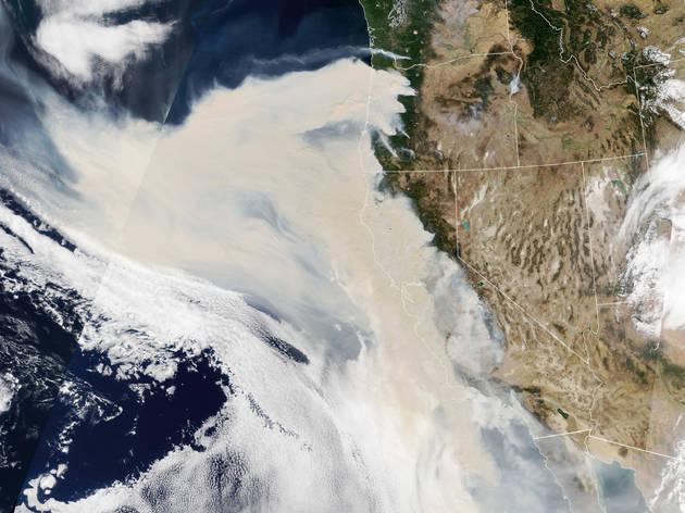 NASA smoke