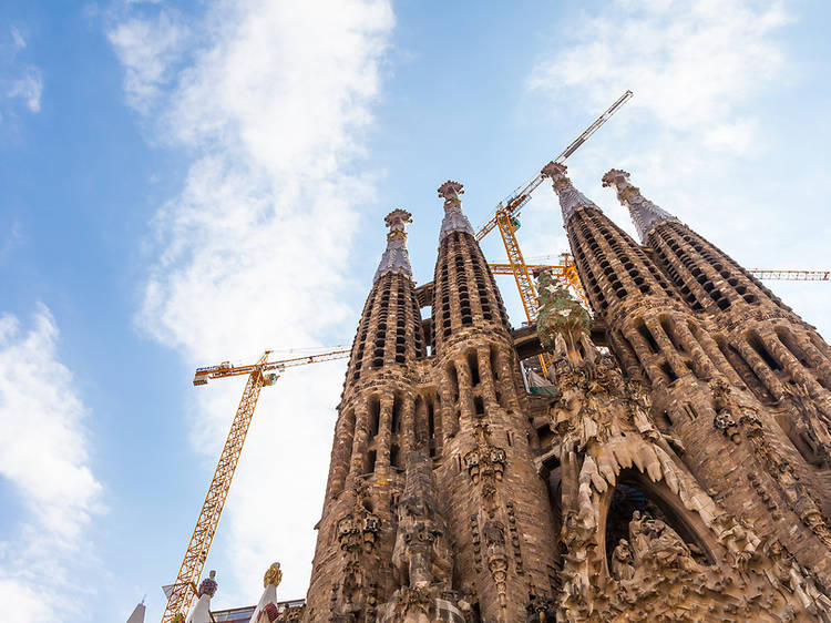 La Sagrada Família creix fins als 127 metres d'alçada