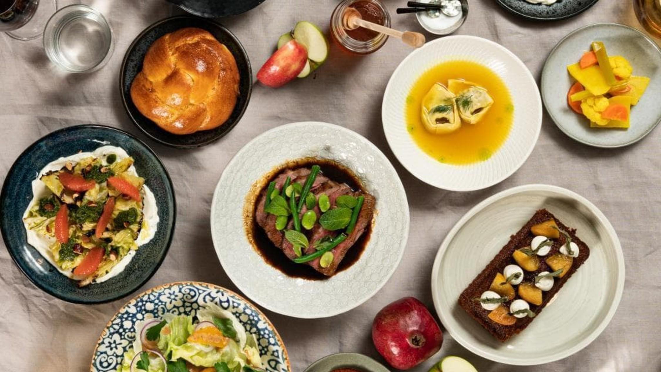 Golda Restaurant Shabbat dinner for delivery