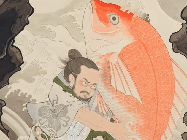 Yoshio Honjo's portrait of celebrity chef Adam Liaw (cropped)