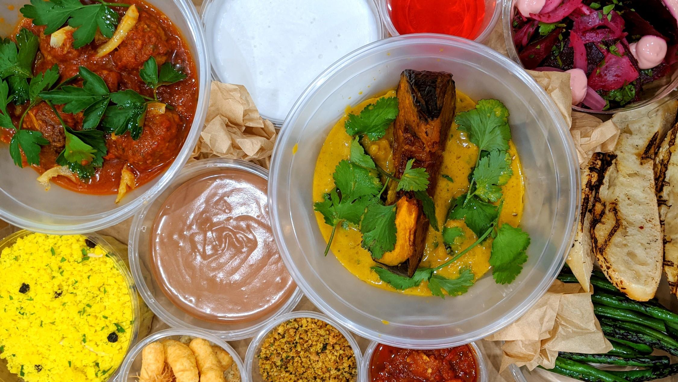 New Jaffa Rosh Hashanah meal