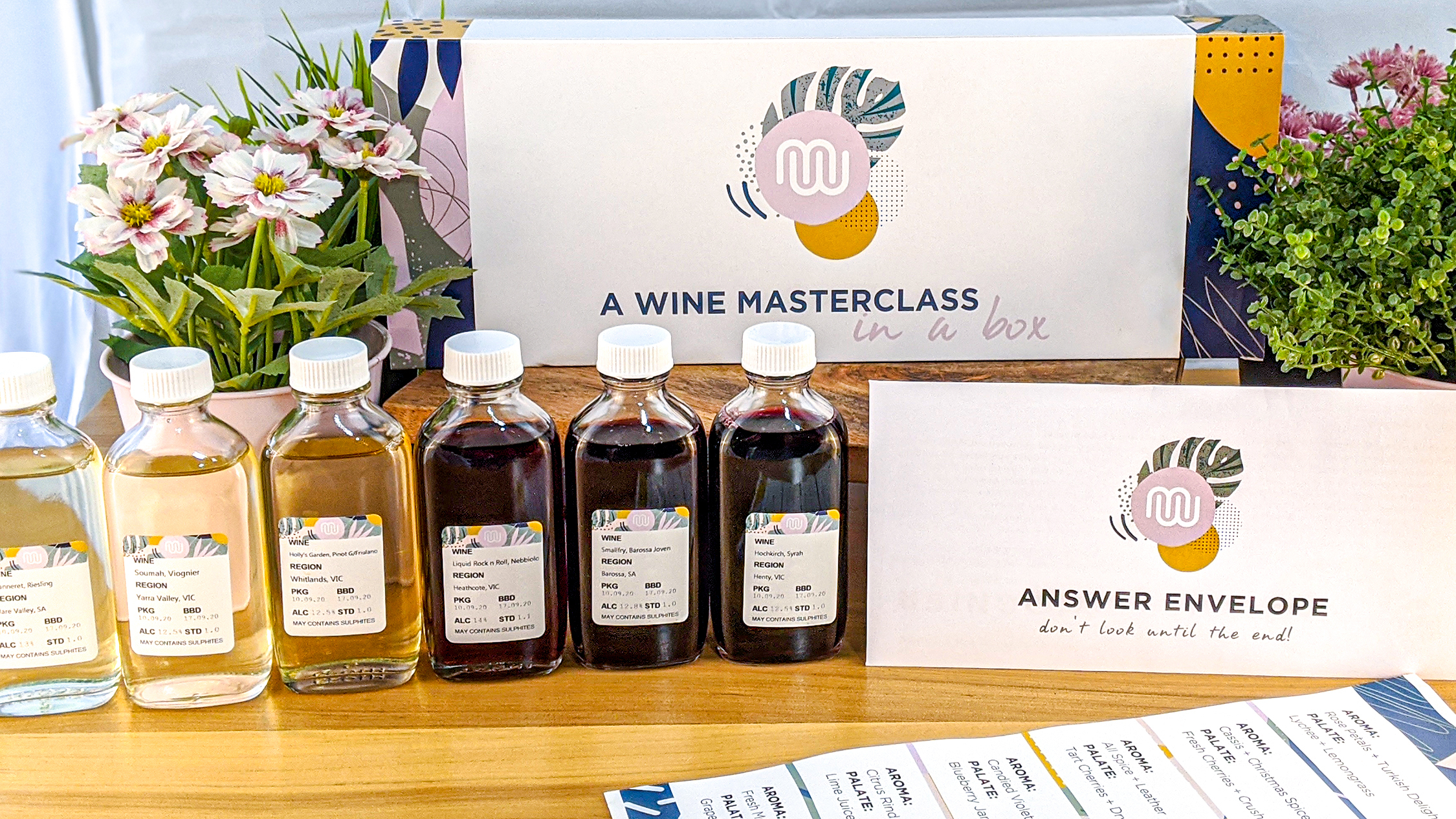 Try this fun, interactive wine tasting kit this weekend