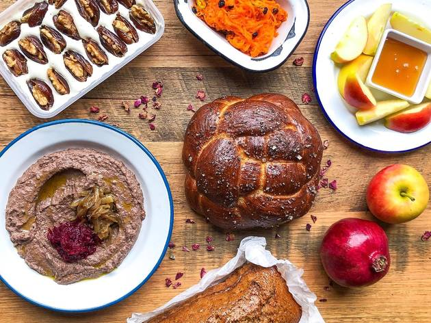 Miznon Shabbat dinner for delivery