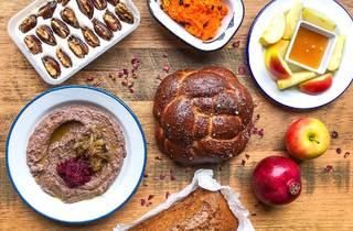 Miznon Shabbat dinner